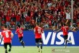 Salah cetak gol, Mesir melaju ke 16 besar