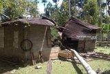 Gajah ngamuk merusak rumah warga di Nagan Raya Aceh