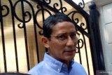 Sandiaga ke rumah Prabowo untuk bertemu pimpinan partai koalisi