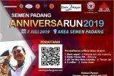 Peringati HUT pengambilalihan ke-61, Semen Padang gelar Fun Run