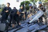 Brimob Polda Kalteng bantu Pengamanan area Freeport saat HUT RI
