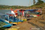 Bisnis perahu wisata di Bendungan Logung cukup menjanjikan