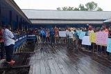 LMA Asmat gelar unjuk rasa damai di Agats