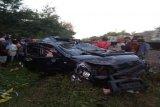 Sebelum tertabrak kereta, mobil Terios alami mati mesin