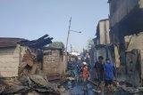 Kebakaran di Tanah Abang, 66 bangunan warga hangus