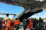 Tim SAR gabungan bermalam di ketinggian 2.500 mdpl cari Helikopter MI 17