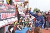 Bupati tutup Road Race Sumatera Cup Prix2019