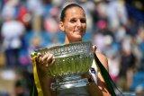Pliskova tumpas Kerber untuk juara Eastbourne International