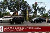 VIDEO: Arus lalu lintas pemudik di Kulon Progo masih landai