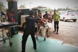 Polisi amankan dua sopir terkait terbaliknya bus rute Pontianak-Sampit