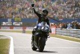 Marquez dikepung pebalap Yamaha di FP2 GP San Marino