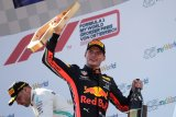 Verstappen akhiri kemenangan beruntun Mercedes di 10 balapan terakhir