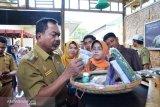Bupati Majene luncurkan sentra produk unggulan serta resmikan warung desa