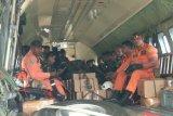Tim darat masih melakukan penyisiran cari helikopter MI 17 yang hilang kontak
