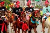 Sumba Timur kembali menggelar parade 1001 kuda Sandewood