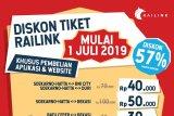 KA Bandara Soekarno-Hatta diskon harga sampai 57 persen