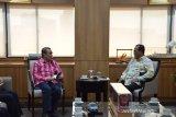 Menhub dan Gubernur Riau bahas 4 proyek infrastruktur, salah satunya pemindahan Bandara Pekanbaru