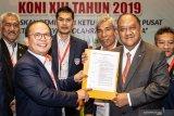 Marciano Norman terpilih jadi Ketum KONI periode 2019-2023
