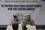 LSI: Ganjar Pranowo lebih berpeluang menjadi capres 2024 dibanding Puan Maharani