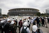 Stadion utama Olimpiade Tokyo 2020 rampung
