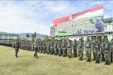 Pangdam XIII Merdeka pimpin upacara pengantaran satgas Apter
