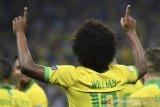 Pemain Brazil Willian absen di final Copa America karena cedera