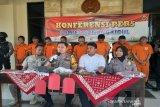 Polres Gunung Kidul meringkus komplotan pencuri toko berjejaring
