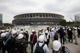 Pembangunan stadion utama Olimpiade Tokyo 2020 rampung