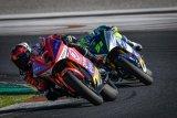 Balapan motor listrik ramaikan seri kesembilan MotoGP di Sachsenring, Jerman