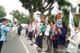 Karangan bunga unik sindir kegagalan Wali Kota Pekanbaru atasi banjir