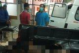 Seorang warga tewas dengan luka bakar saat angkut dua jeriken bbm
