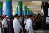 Presiden Joko Widodo memulai lakukan kunjungan kerja di Sulawesi Utara