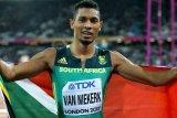 Van Niekerk terancam absen di kejuaraan dunia akibat cedera