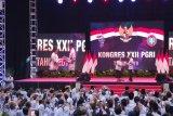 Jokowi menerima penghargaan PGRI Mahadwija Praja Nugraha