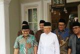 Cak Imin minta dukungan KH. Ma'ruf Amin untuk jadi Ketua MPR RI