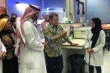 Tamu Indonesia pertama di KACST Arab Saudi