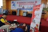 Bank SulutGo gelar donor darah perkuat stok PMI
