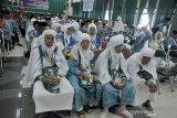Kloter pertama mulai masuk Asrama Haji Palembang