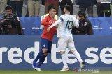 Copa America, Messi dikartu merah tapi Argentina sukses jadi peringkat ketiga