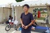 Ratu BMX dan fesyen warna hitam