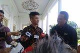 Presiden Jokowi dan Rapper Rich Brian bicarakan musik di Istana Bogor