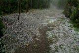 Hujan es sebesar kelereng guyur Aceh Tengah
