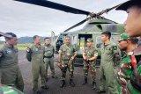 Tim pencari helikopter M-17 lima kali mengudara di hari kesebelas