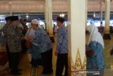 Sebanyak 236 calon haji Gunung Kidul diberangkatkan dua kloter