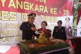 Polres OKU Timur gelar acara syukuran HUT Bhayangkara