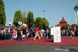 Aksi teatrikal penegakan hukum warnai HUT Bhayangkara di Kudus