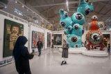Karya seni kontemporer dan modern