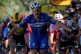 Pebalap Italia Elia Viviani raih kemenangan perdana di Tour de France