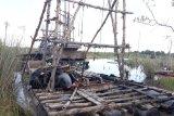 Polisi tertibkan tambang timah ilegal di Bangka Tengah