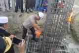 Polda Sulteng bangun kembali Mako Polair setelah diterjang tsunami